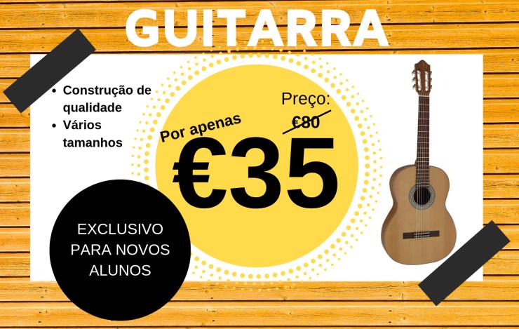 Promoção Guitarra €35
